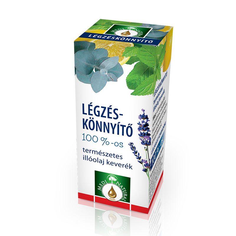 Medinatural légzés könnyítő illóolaj keverék - 10ml