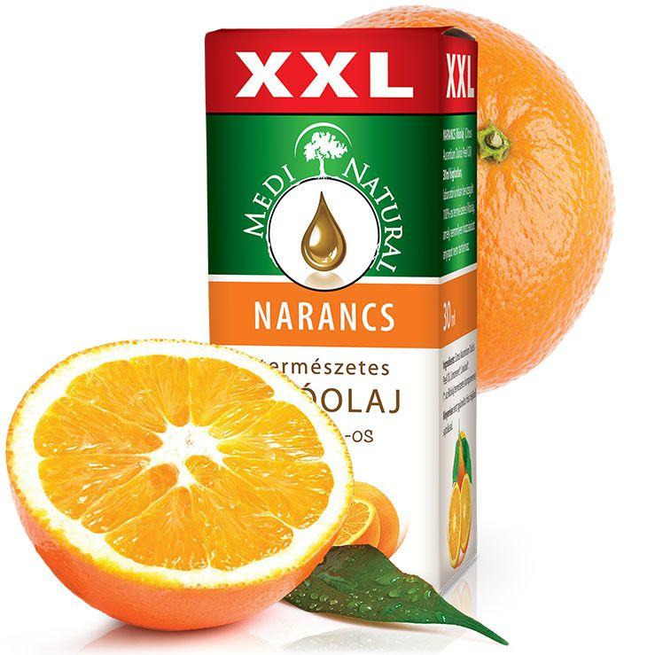 Medinatural illóolaj narancs XXL - 30ml