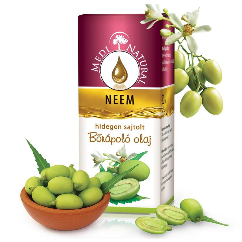 Medinatural bőrápoló olaj neem - 20ml