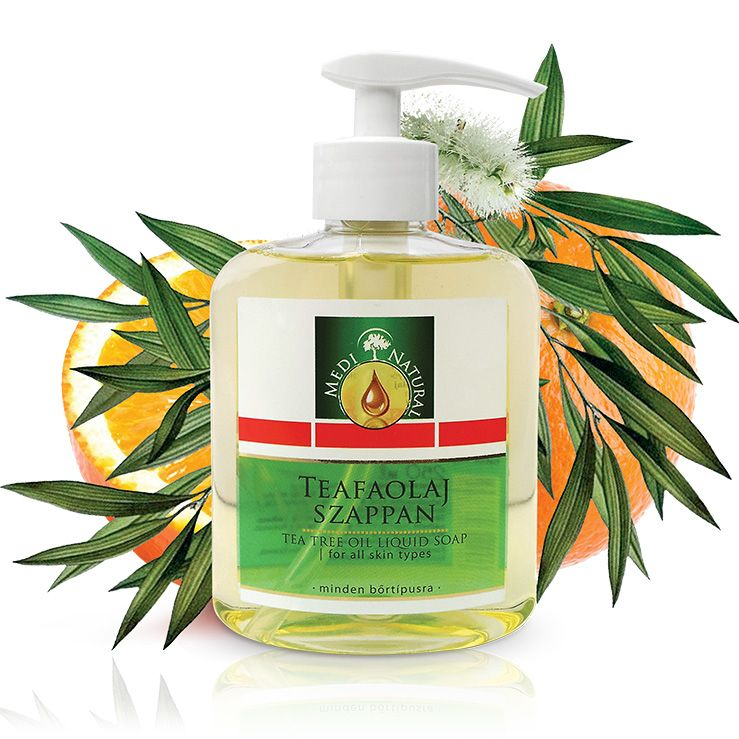 Medinatural teafaolaj folyékony szappan - 250ml