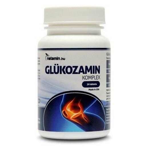 Netamin Glükozamin Komplex tabletta - 30db