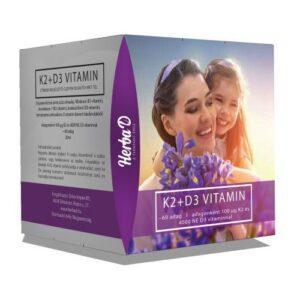 Herba-D K2+D3-vitamin csepp - 20ml