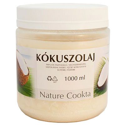 Nature Cookta kókuszolaj - 1000ml