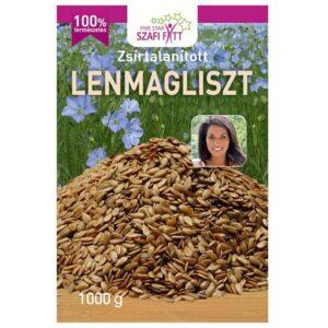 Szafi Fitt Zsírtalanított Lenmagliszt - 1000g