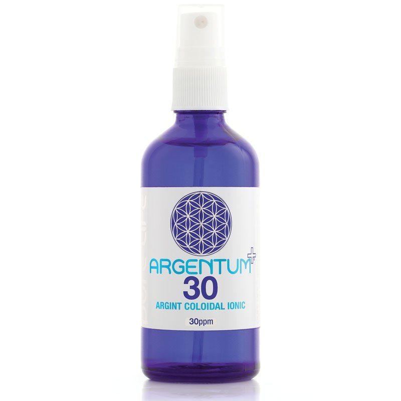 Argentum+ 30ppm ezüst kolloid ionos szájspray - 120ml