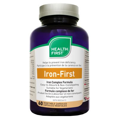 Health First Iron-First kapszula - 60db