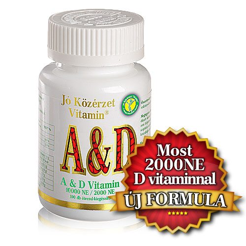 Jó közérzet A & D vitamin lágyzselatin kapszula - 100db