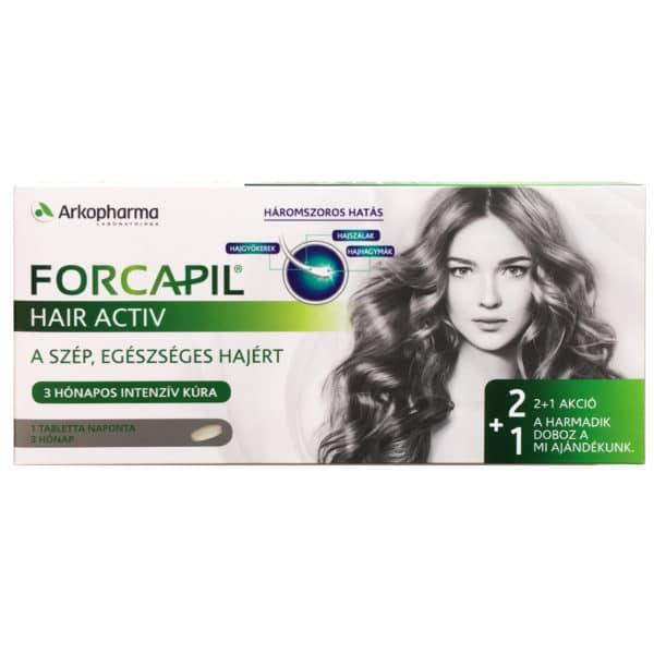 Forcapil Hair Activ tabletta - 90db