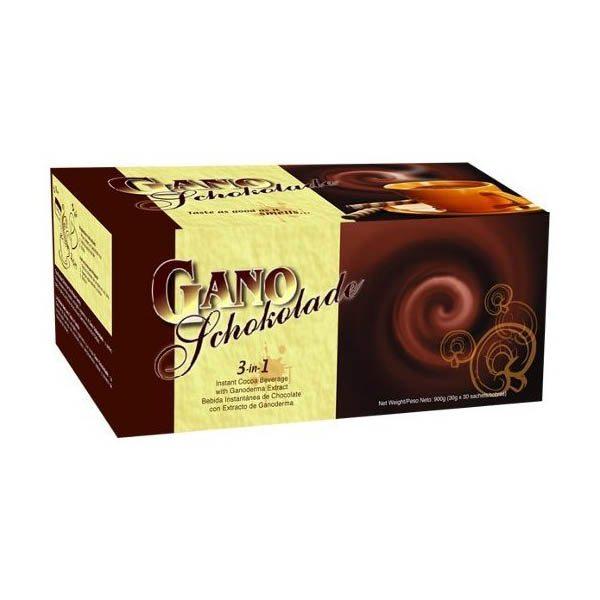 Gano Excel Schokolade ganoderma tartalmú forrócsoki - 20 tasak x 30 g /doboz