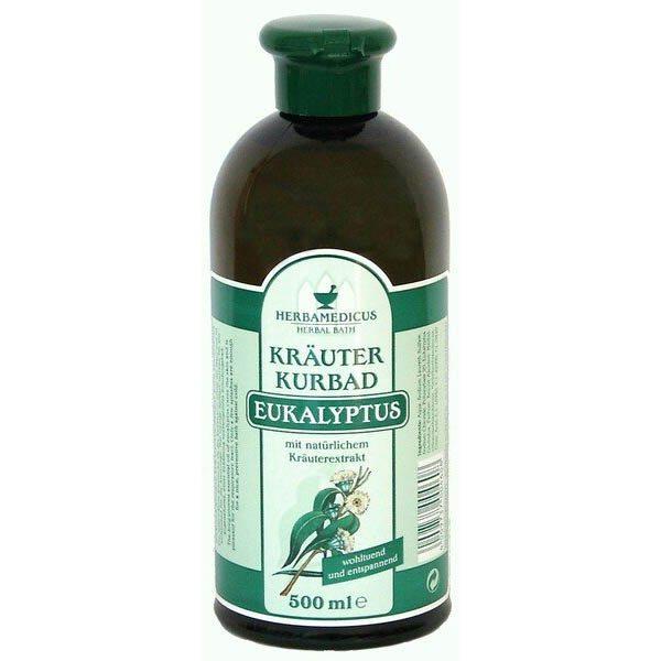 Herbamedicus eukaliptusz gyógynövényes fürdőolaj - 500 ml