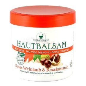 Herbamedicus Vadgesztenye, Vörös szőlőlevél balzsam - 250 ml