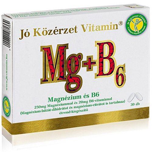 Jó közérzet Magnézium és B6-vitamin tabletta - 30db