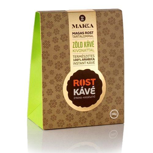 MAKKA Rost kávé zöld kávé kivonattal - 30 tasak