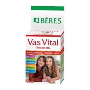 Béres Vas Vital filmtabletta - 30db