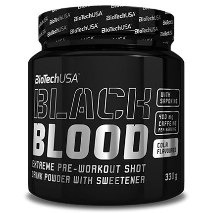 BioTech USA Black Blood kóla - 330g