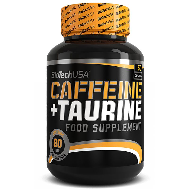 BioTech USA Caffeine-Taurine / Power Force kapszula - 60 db