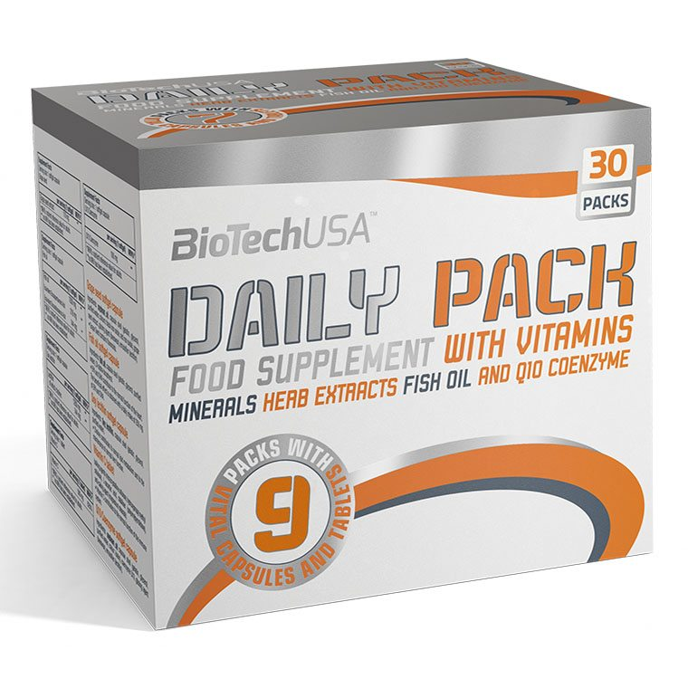 BioTech USA Daily pack multivitamin - 30 pak