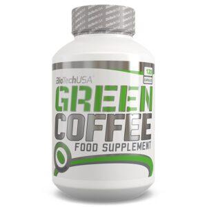 BioTech USA Green Coffee - Zöld kávé kapszula - 120 db