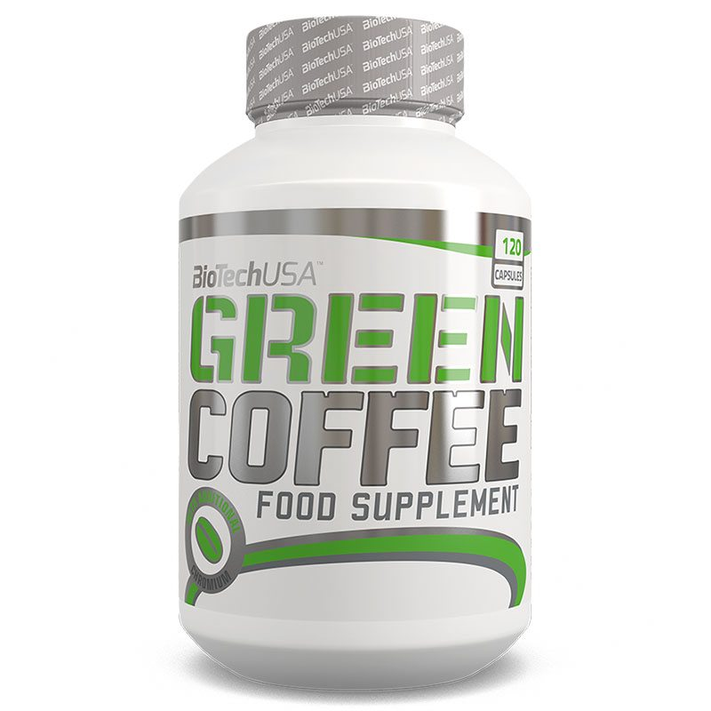 BioTech USA Green Coffee - Zöld kávé kapszula - 120 db