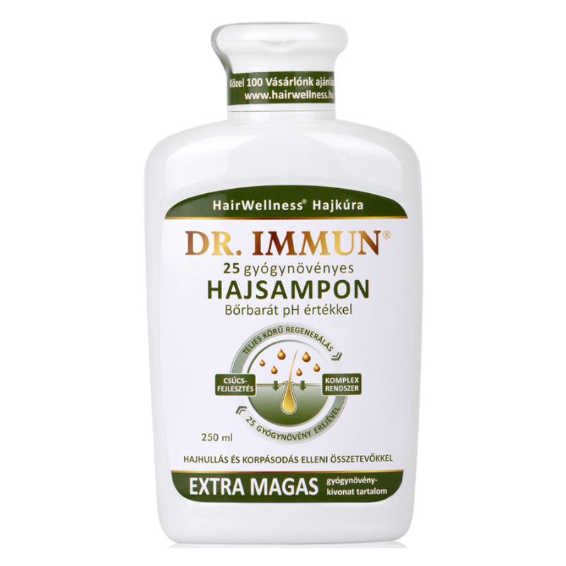 dr. Immun 25 gyógynövényes sampon - 250ml