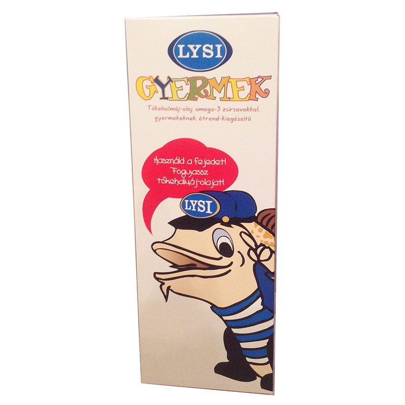 Lysi Kid's tőkehalmáj olaj - 240 ml