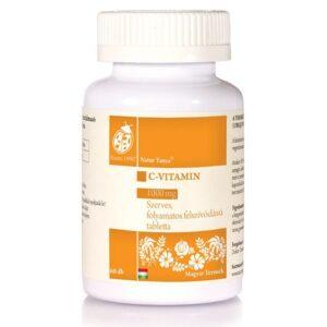 Natur Tanya Szerves C-vitamin 1000 mg retard tabletta - 60db