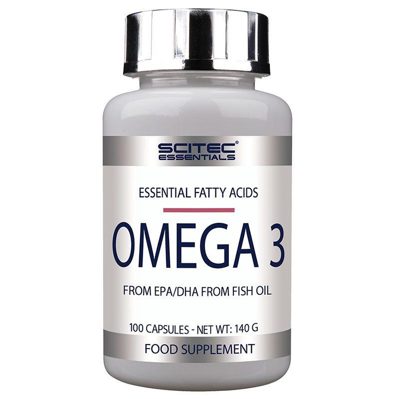 Scitec Essentials Omega 3 kapszula - 100 db
