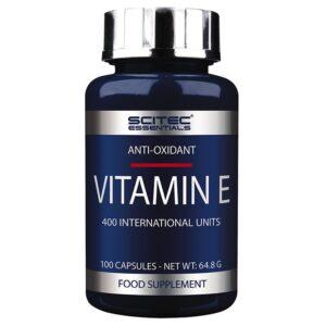 Scitec Essentials Vitamin E 100 kapszula - 100 db