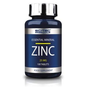 Scitec Essentials Zinc 100 tabletta - 100 db