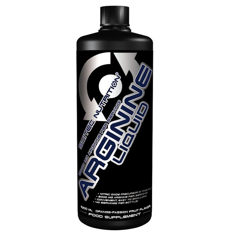 Scitec Nutrition Arginine Liquid narancs- maracuja ital - 1000ml