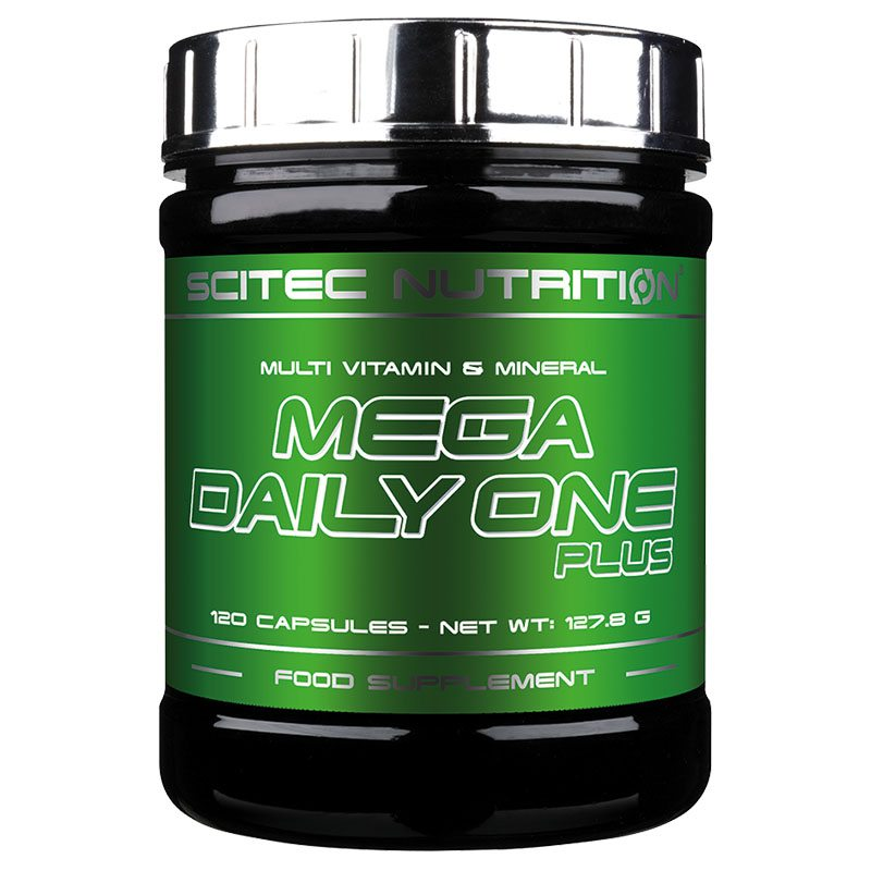 Scitec Nutrition Mega Daily One Plus multivitamin tabletta - 120 db