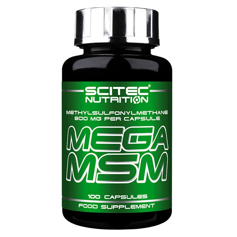 Scitec Nutrition Mega MSM kapszula - 100db