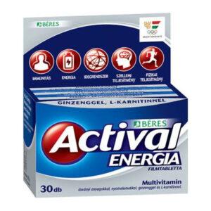Béres Actival Energia tabletta - 30db