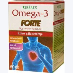 Béres Omega-3 Forte lágyzselatin kapszula - 60db