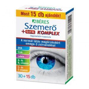Béres Szemerő+DHA komplex lágyzselatin kapszula - 30+15db