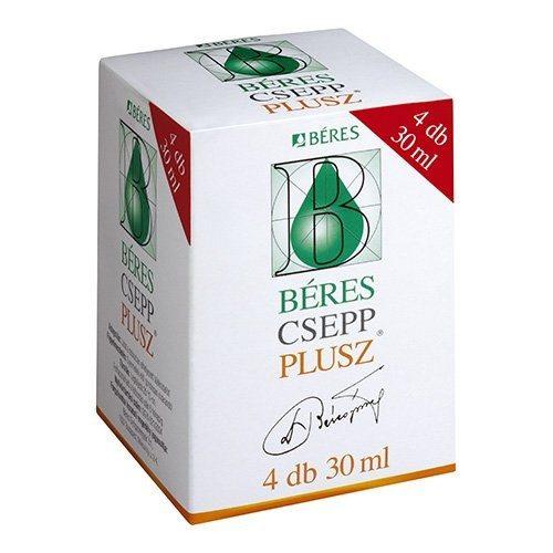 Béres Csepp Plusz - 4x30ml
