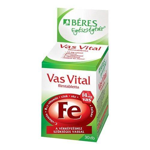 Béres Vas Vital tabletta - 30db