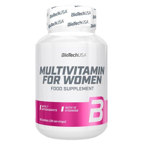 BioTech USA Multivitamin for Women tabletta - 60 db