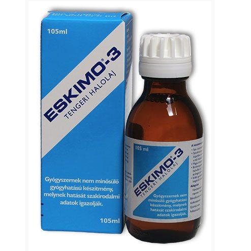 Eskimo Omega-3 halolaj - 105 ml