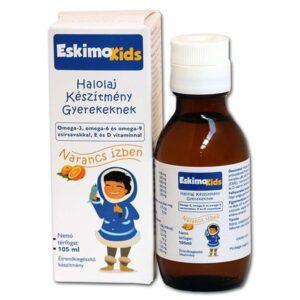 Eskimo Kids halolaj narancsos - 105ml