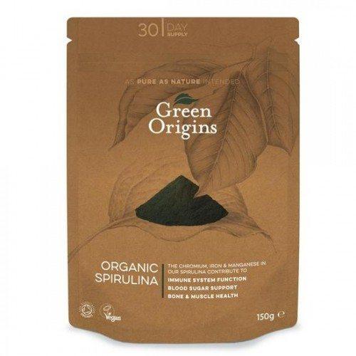 Green Origins Bio Spirulina por - 150g