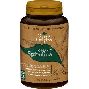 Green Origins bio spirulina tabletta - 180db