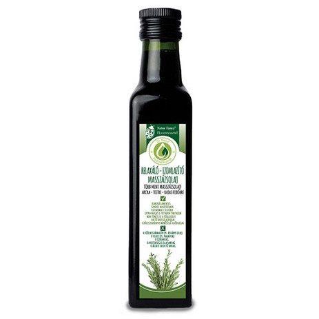Natur Tanya relaxáló, izomlazító masszázsolaj - 250ml