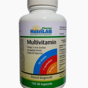 Nutrilab Multivitamin + Omega-3 kapszula - 150db