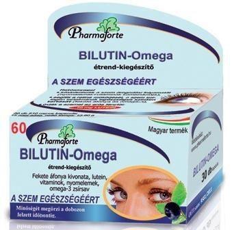 Bilutin - Omega kapszula - 60 db
