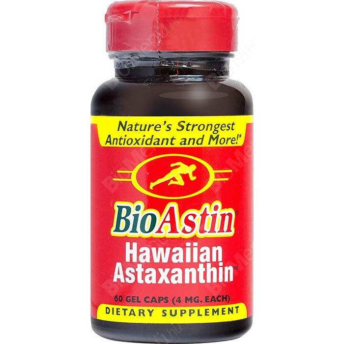 Nutrex Hawaii Bioastin Hawaiian Astaxanthin kapszula - 60db