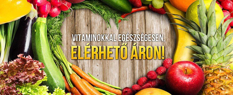 Vitaminokkal egészségesen - elérhető áron!