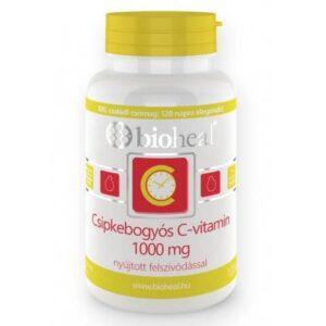 Bioheal C-vitamin 1000mg + Csipkebogyó nyújtott felszívódású filmtabletta - 120db