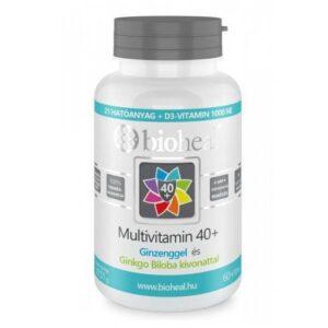 Bioheal Multivitamin +40 filmtabletta - 70db