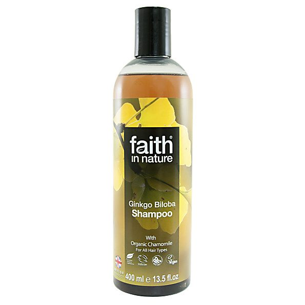 Faith in Nature Ginkgo Biloba sampon - 400ml